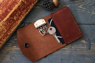 Key and card case