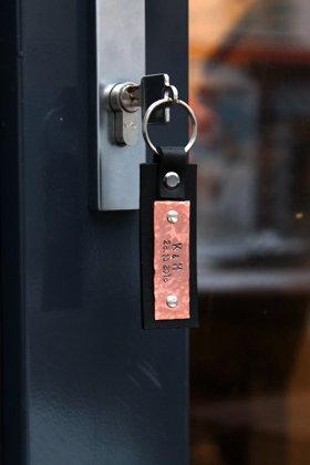 Personalizēts atslēgu piekariņš- spīdīgs